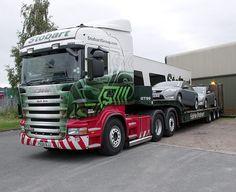 Eddie Stobart flatbed Cool Trucks, Big Trucks, Car Camper, Campers, Eddie Stobart Trucks, Fan Picture, Transporter, Tractors, Race Cars
