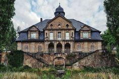 Orfanato abandonado em Ansbach, Alemanha.