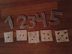 Hiljaisuuskansion sivuja osa 4/6. Huovasta numerot ja palikat, yhdistä.