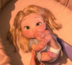 baby rapunzel she is so cute!!