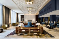 Architect of Record for the renovation of the Hotel Allegro. Simeone Deary Design Group was the Interior Designer on the project working to bring back the Ar.