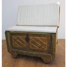 Nile Engraved Upholstered Trunk  $699.00