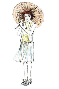 Magic In The Moonlight, Costume Design Sketch, Vintage Inspired Fashion, Timeless Fashion, Vintage Fashion, Emma Stone, Woody, Illustration Art, Art Illustrations