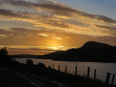 Sunrise at Fintown, Co Donegal