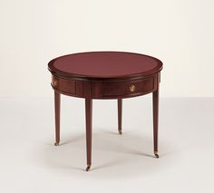 23017 // Decca // Traditional Collection // Traditional Hand Carved Side Table on Casters