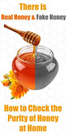 Easy ways to check if the honey you're buying is pure or fake.