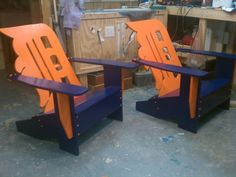 Detroit Tigers Chairs.... WANT