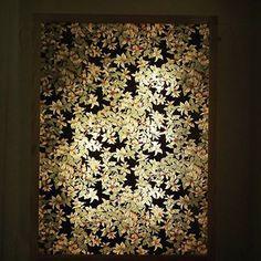 Papiers japonais lampe-décoration- Mon univers papier