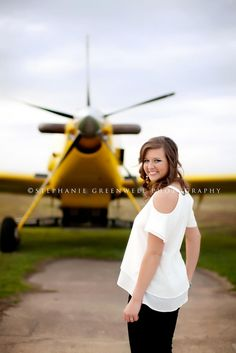 airplane senior pictures - Google Search