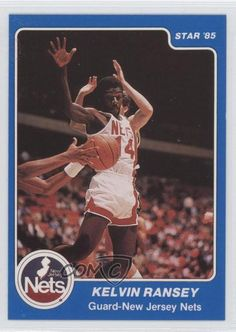 1984-85 Star #95 Kelvin Ransey New Jersey Nets Rookie Basketball Card | Sports Mem, Cards & Fan Shop, Sports Trading Cards, Basketball Cards | eBay!