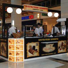 Chimney Cake Mall-kiosk …