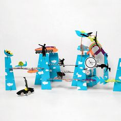 City of Dreams / a building set that inspires kids to construct stories in their own fantastic world | MR P SHOP
