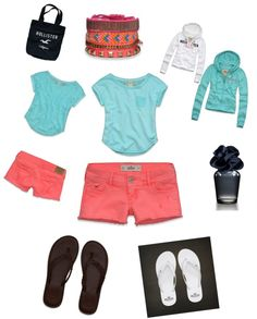 """Hollister Summer Night at the Beach ♥"" by alyssawollman-1 on Polyvore"