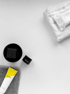 grooming goods parcel available at reduced price: luxe lip balm, hand cream, exfoliating towel, organic soap, and waxed canvas dopp kit