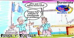 Frases, chistes, anécdotas, reflexiones, Amor y mucho más.: Frijol y Tortilla El Burócrata, Nuestro Diario Guatemala.