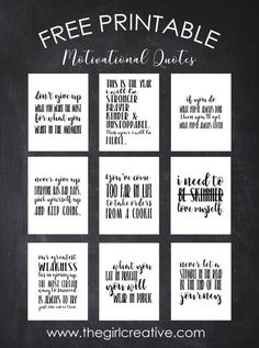 Free Printable Motivational Quotes | Weight Loss Inspiration | Inspiring Quotes to lose Weight The Words, Losing Weight Tips, Lose Weight, Lose Fat, Water Weight, Reduce Weight, Gratitude Challenge, Affirmations, Weight Loss Journal