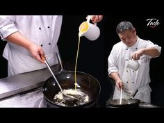 How to Make Perfect Egg that Looks like Silk by MasterChef Wok Recipes, Asian Recipes, Filipino Recipes, How To Cook Pork, How To Cook Eggs, Asian Cooking, Easy Cooking, Tempura, Best Wok