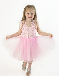Hey, I found this really awesome Etsy listing at https://www.etsy.com/listing/244529200/pink-flower-girl-dress-tulle-toddler