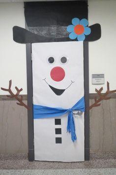 Trendy january classroom door ideas for kids Christmas Classroom Door, Christmas Front Doors, School Door Decorations, Christmas Door Decorations, The Grinch, Diy Fairy Door, The Block, School Doors, Eiffel