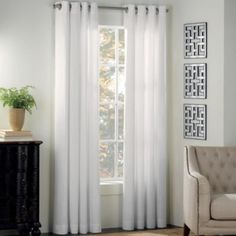 Product Image for Newport Grommet Window Curtain Panel 1 out of 2