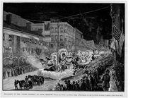 Veiled Prophet float - 1883 St. Louis
