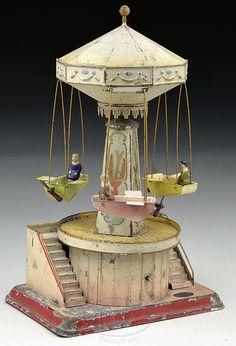 Beautiful antique carousel.