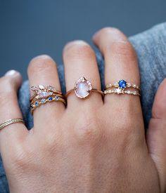 Diamond Stardust Ring - Audry Rose