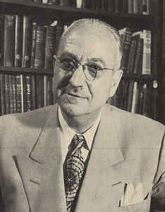 Karl  Menninger (1893 - 1990) One of the founders of The Menninger Clinic in Topeka, KS. It is one of the world's most renowned psychiatric clinics.