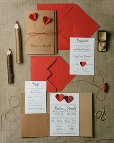30 Excellent Photo of Red Wedding Invitations Red Wedding Invitations Rustic Wedding Invitation Set 20 Hearts Wedding Invitation Suite Heart Wedding Invitations, Vintage Wedding Invitations, Rustic Invitations, Invitation Cards, Invitation Suite, Invitation Wording, Event Invitations, Wedding Stationery, Wedding Invitation Sets