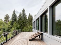 An expansive deck in Germany.