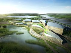 Suncheon International Wetlands Center | Gansam Architects and Associates http://www.arch2o.com/suncheon-international-wetlands-center-gansam-architects-and-associates/