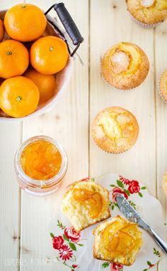 Cupcakes a diario: Magdalenas caseras, mi placer de la mañana...