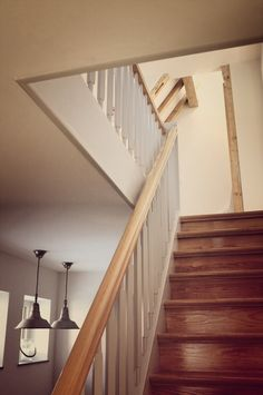 oakwood stairs, 50s, retro, vintage design