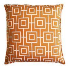 Outdoor/indoor Decorative Cushion - Orange