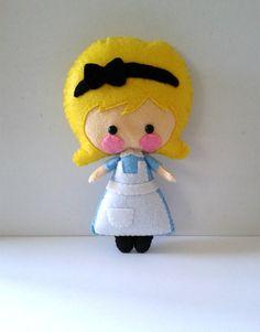 Alice Doll Pattern by BornToBeFelt on Etsy