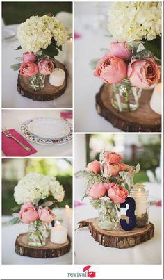 Breautifl vintage chic wedding decor #centerpiece #vintagewedding #weddingdecor