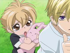Anime Fr, Old Anime, Rainforest Food Web, Honey Senpai, Host Club Anime, Ouran Host Club Manga, Cute Characters, Anime Characters, Funny Yugioh Cards