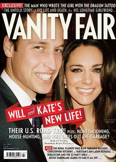 31.05.2011 With wide smiles, they can barely conceal the excitement of their newly-announced engagement.  In this never-before-seen photograph, the Duke and Duchess of Cambridge appear close and relaxed – thrilled by thoughts of their impending big day.  The photograph, taken by Mario Testino, graces the July cover of Vanity Fair.
