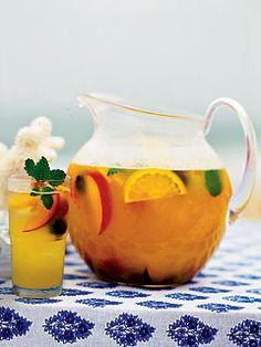 White Wine Sangria with Fresh Summer Fruit