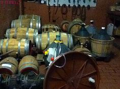 Wine in season at Il Pupillo, #Wine #winebarrels #italianwine