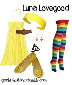 Luna Lovegood - Harry Potter Fashion