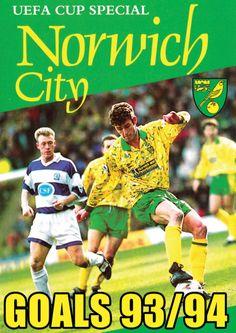 UEFA Cup Special Norwich City 93-94 featuring Chris Sutton, Jeremy Goss, Ruel Fox and a high flying Canaries side that won at Bayern Munich http://www.amazon.co.uk/UEFA-Cup-Special-Norwich-Goals/dp/B00GTS0L7Y/ref=sr_1_fkmr0_1?ie=UTF8&qid=1385244226&sr=8-1-fkmr0&keywords=visionsport+uefa+norwich+dvd