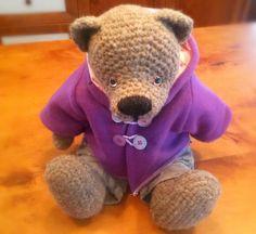 Gehäkeltes XL Teddybär/Crochet  XLTeddy Lola von Perzl-Puppen auf DaWanda.com