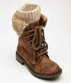 Comfy Brown Wheeler Boots | FASHION TURKEY