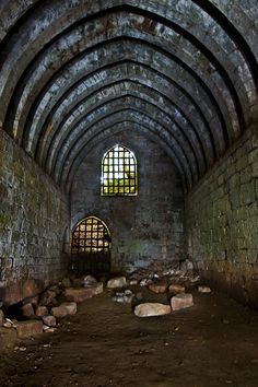Yester Castle - Abandoned Scotland