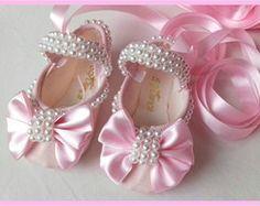 sapatilha de ballet bordada
