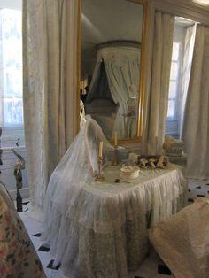 La salle de bain reconstituée de Marie Antoinette au château de Versailles