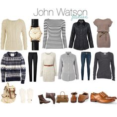 """John Watson Fashion"" by melovesharrypotter on Polyvore // @Sarah Chintomby Chintomby Camino: I am preparing for when we dress like this at the Hobbit."