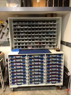 Organizing large quantities of misc fasteners? - The Garage Journal Board