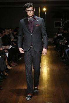 Michael Bastian Men's RTW Fall 2014